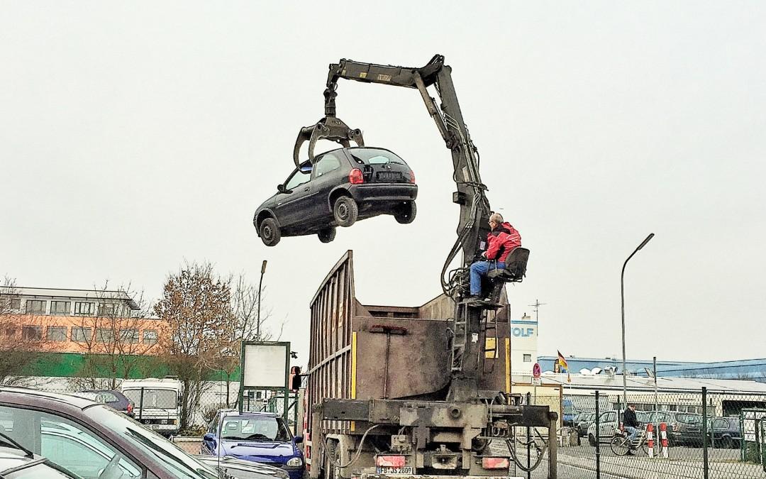 Autorecycling – Wie werden eigentlich Autos entsorgt?